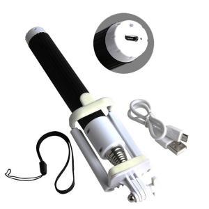 Quality Lightweight Mobile Phone Selfie Stick , Foldable Selfie Bluetooth Monopod for sale