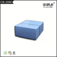 Buy cheap Promotional Beautiful Blue Cardboard Boxes , Fancy Paper Gift Box For Hand Cream from wholesalers