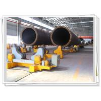 Quality 60T Pipe Weldment Used Self - Aligned Welding Rotator With Motorized Trolley for sale