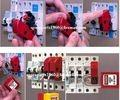 Versatile Electrical lockouts/Universal Mini Circuit Breaker Lockout(TOOL FREE ) changeable with Master Lock S2394