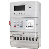 Wholesale Ultrasonic Welded STS Prepaid Meters , 3 Phase 3 Element 4 Quadrant Electric Meter from china suppliers