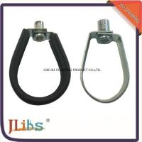 Wholesale Galvanized Steel Pipe Hangers / Pipe Hanging Clamp For Building Structure from china suppliers