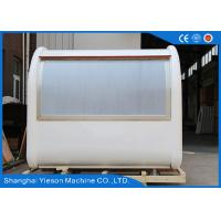 Wholesale Mobile Vending Stainless Steel Food Cart Units Kiosk Commercial Outdoor from china suppliers