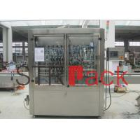 Wholesale Gear pump Paste Filling Machine with Glass Cleaning for semi liquid from china suppliers