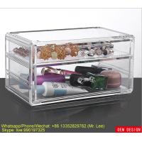 Wholesale Top Grade PS Clear Acrylic Makeup Organizer For Storage Comestic Tools from china suppliers