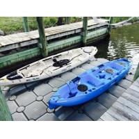 Wholesale new type Marine Plastic Jetski floating pontoon docks with wheels from china suppliers