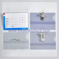 Wholesale Clear Work Permit/ID Card Holder/Badge Holder With Clip  from china suppliers
