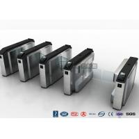 Wholesale Waist High Turnstile Security Systems , Biological Recognition Flap Barrier Gate from china suppliers