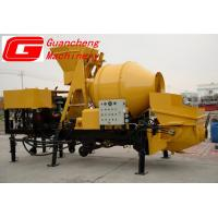 Wholesale 7.5 KW Truck Mixer Concrete Pump , 16 ~ 20 m3/H Concrete Mixer With Pump from china suppliers