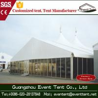 Wholesale Waterproof Sunscreen Large Outdoor Aluminum Tent With Glass Wall from china suppliers