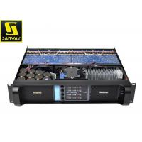 Wholesale Lightweight 4 Channel Power Amplifier 2500W Stereo Mixer Amplifier For Outdoor Event from china suppliers