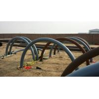 Wholesale 180 Degree Seamless Carbon Steel Tube Bends With Flange Connection from china suppliers