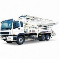 Buy cheap 47m Concrete Pump with Isuzu Chassis, 120m from wholesalers