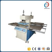 Wholesale Hydraulic Embossing Four Station Automatic Heat Press Machine For Garments OEM from china suppliers