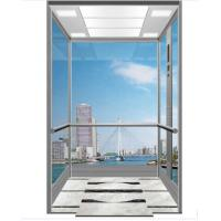 Buy cheap PVC Floor Scenic Passenger Lifts with 800-1600Kg loading Capacity from wholesalers