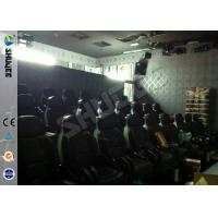 Wholesale Prominent Theme 6D Movie Theater System With Pneumatic / Hydraulic Control Motion Chair from china suppliers