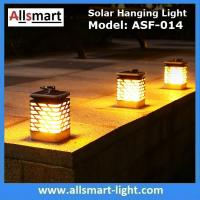 Wholesale 75LED Solar Lights Outdoor LED Flickering Flame Torch Light Solar Powered Lantern Hanging Decorative Pathway Garden Lamp from china suppliers