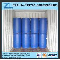 Wholesale EDTA-Ferric ammonium reddish brown clear liquid from china suppliers