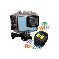 Wholesale High Definition Customized Waterproof Action Cameras with Remote Control 1050mAh Battery from china suppliers