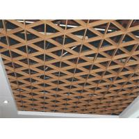 Wholesale Indoor Triangle Aluminum Metal Ceiling Grid Fireproof For Supermarket Construction Materials from china suppliers