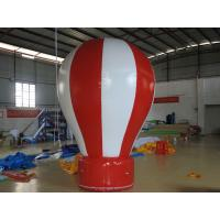Wholesale Red / White Inflatable Advertising Balloons 3M High Decorative Inflatable Balloon from china suppliers