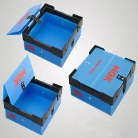 Wholesale Colorful Collapsible Waterproof PP Turnover Box Coroplast Box For Supermarket from china suppliers