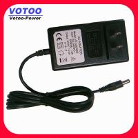Wholesale Euro Plug 24W Wall Mount Power Adapter 12V 2A , CCTV Camera Power Supply from china suppliers