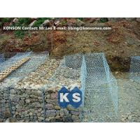 Wholesale Hexagonal Wire Mesh Double Twisted Gabion Wall Baskets With ASTM A975-97 Standard from china suppliers