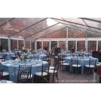 Wholesale Wind Resistant Transparent Fabric clear event tent Canopy Strusture from china suppliers