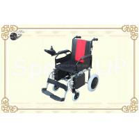 Wholesale Safety Folding Electric Hub Motor Wheelchair with Aviation Aluminum Frame from china suppliers