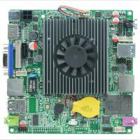 Wholesale ITX -N29 Baytrail Motherboard fanless with Lan Quad Core Mainboard J1900,J1900 nano itx mo from china suppliers