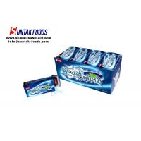 Wholesale Sugar Free Refreshing Peppermint Hard Candy , Blue Mint Hard Candy Oval Shaped from china suppliers