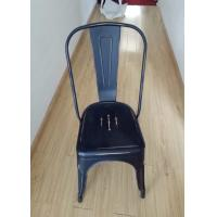 Wholesale Modern Metal Tolix Chair With Backrest , Tolix High Back Stool For Home / Restaurant from china suppliers