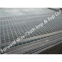 Wholesale Hot Dipped Galvanized Bar Grating Carbon Steel / Stainless Steel 1000 * 2000 mm from china suppliers