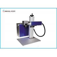 Wholesale Mini Metal Jewelry Fiber Laser Marking Machine With Computer from china suppliers