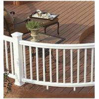 Wholesale Water Roof Wood Plastic Composite Railing WPC Bridge Parapet Railing from china suppliers