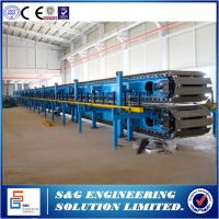 Quality Full Automatic Control PU Sandwich Panel Production Line 5 / 7.5 / 10T Capacity for sale