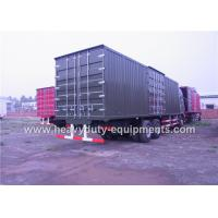 Wholesale HW 79 Cab Heavy Cargo Trucks 60-85 Km / H 25000Kg Full Rated For Logistics Transportation from china suppliers