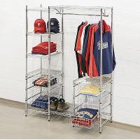 Wholesale Mall Clothing Display Racks /Metal Garment Storage Shelves from china suppliers