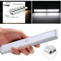 Wholesale 10 Pcs Smd2835 1.8w Motion Sensor Led Tube Cupboard Led Lights With 4*Aaa Battery from china suppliers
