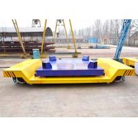 Wholesale 30t large platform electric rail mounted molten steel carriage with electric scale and LED screen from china suppliers