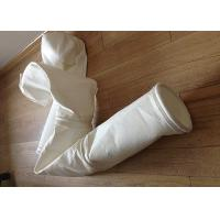 Wholesale Stainless Steel Ring Micron Filter Bags Easy Cleaning For Cement Plant from china suppliers