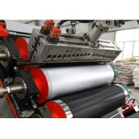 China Soft Plastic Sheet Extrusion Machine UPVC Plastic Processing Length 15mm-20mm on sale
