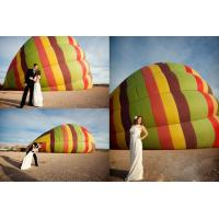 Buy cheap Tarpaulin Inflatable Sports Games Sightseeing Manned Hot Air Balloon For 2 from wholesalers