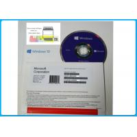 Wholesale Microsoft Windows 10 Pro Software + Genuine key , windows10 64bit DVD disk from china suppliers