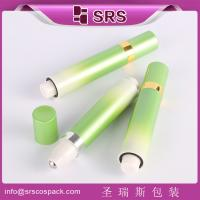 Wholesale Shengruisi packaging SY-10ml plastic airless press roll on bottle with metal ball from china suppliers