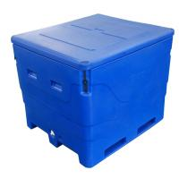 Wholesale Oversized 600L Blue Insulated Fish Container from china suppliers
