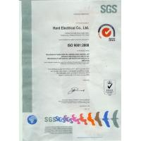 Hont Electrical Co., Ltd Certifications
