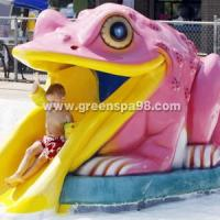 Wholesale Fiberglass Frog Water Spray Kids Water Playground Swimming Pool Water Park from china suppliers