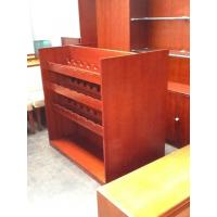 Wholesale Heat Resistant Furniture Display Cabinet Wine Rack Wood Board For Storage from china suppliers